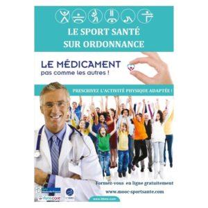 """Certification """"Prescrire le Sport Santé sur Ordonnance"""""""