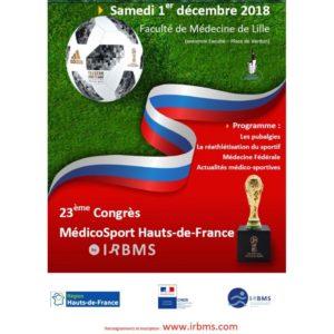 Diaporamas (ZIP) 23ème Congrès MédicoSport (Nov. 2018)